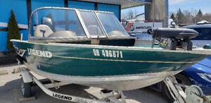 2006 Legend All Sport V151 fishing boat w/30hp Mercury &trailer