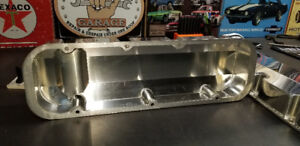 BBC aluminum fabricated  valve covers