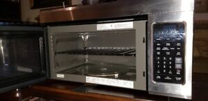 Stainless LG  2.0 Cu Ft Microwave