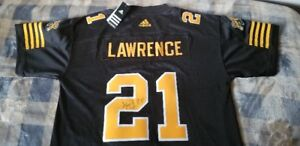 New Hamilton Tiger Cats Jersey Signed by Simoni Lawrence #21
