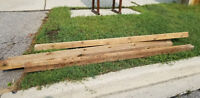 New Fence posts 4x4, $5.00 each 8ft long