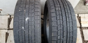 Two 205/55R16 Dunlop Graspic DS-3