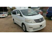 TOYOTA ALPHARD, 2008, 2 Berth Campervan with Electric Cool Box