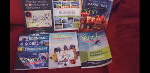 Year 1 NSCC Business Administration books