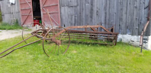 Antique Hay Mower or Rake