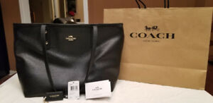 Coach - Large City Leather Zip Tote for $150 OBO. Like BRAND NEW