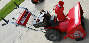 Winter blow out! 8hp snowblower