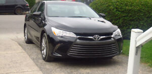 2017 Toyota Camry XLE fully loaded