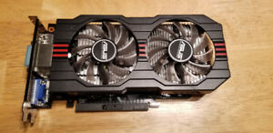 Carte graphique Asus Geforce GTX 650 Ti 1GB