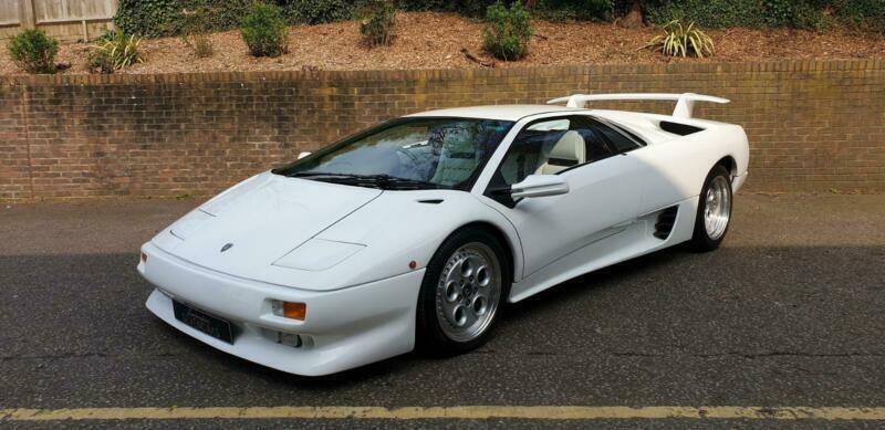 1993 Lamborghini Diablo Vt Petrol White Manual In Sevenoaks Kent