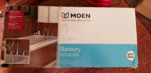 MOEN Banbury 2-Handle Deck-Mount Roman Tub Faucet FOR SALE