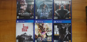 Japanese Import PS4 Games -no region lock-
