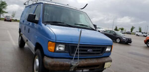 2005 Ford E-350 Cargo Van For Sale....