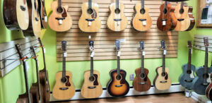 Guild acoustic all-solid guitars, made in the USA, includes case