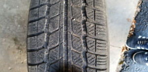 215/60 R16 Wanli Snowgrip Used Winters w/rims (2010 Ford Fusion)
