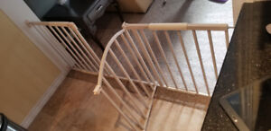 SOLD Baby gate - large
