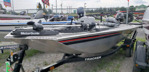 2011 Bass Tracker Panfish 16 w/30hp side control & Trailer