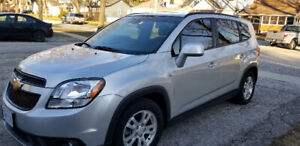 2012 CHEVY ORLANDO - COMES WITH SAFETY, LOW KM'S