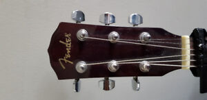 Fender acoustic guitar cd 60 perfect condition