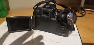 Canon PowerShot SX20IS  with Canon Flash and Case