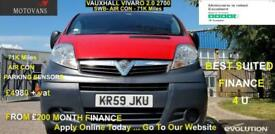 2010 Vauxhall Vivaro 2.0 TD dCi LL29 Panel Van, 61K, AIR CON,1 OWNER , FSH , 1YR