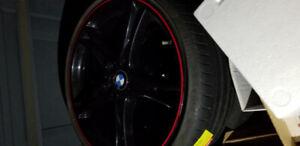 BMW Pirelli Tires on Rims 225/35 R20