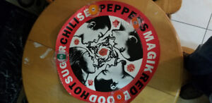 Vintage Red Hot Chili Peppers poster