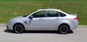 2008 Ford Focus genuine 105K miles with winter rims/tires, $5500