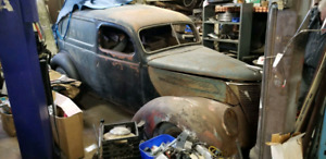 1937 Sedan Delivery Body and Frame