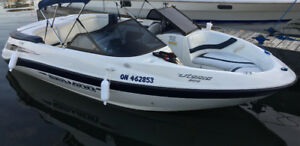 20ft Seadoo Utopia 2003 boat is LIKE NEW!!