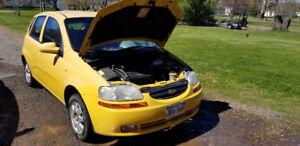 2005 Chevy Aveo - Mechanic Special
