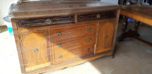 Buffet and Table.  $150 Abbotsford