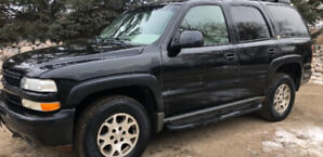 02 CHEVY TAHOE Z71 4×4