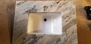Sunken Marble Sink