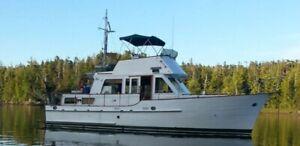 36' Island Gypsy Tri-Cabin. Excellent Condition.