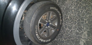 F150 ford rims and tires