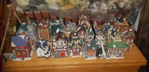 Village de Noël miniature