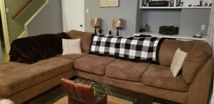 Sectional-$150 o.bo suitable for t.v room, shed or cabin