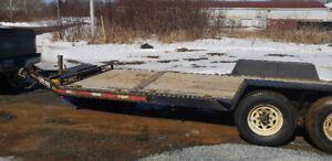 2011 brimar tilt deck trailer 14000 GVW new tires new brakes new
