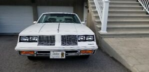 Extremely Beautiful White 1985 Oldsmobile Cutlass SALON