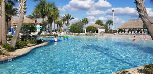 Disney World 9 miles!  Free cinema - lazy river - game rm & golf