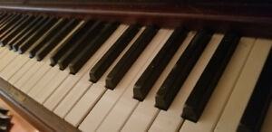 Full size upright piano