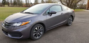 2015 Civic EX 2dr - Low KMS - 139.07 BW @ 4.49%