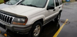 1999 jeep grand Cherokee Laredo  great condition  will trade