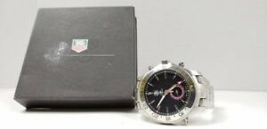 TAG HEUER LINK MEN BLACKDIAL STEEL ! SEULEMENT 1249.95$