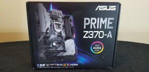 *BRAND NEW* Asus Prime Z370-A RGB Motherboard