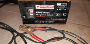 Motomaster Battery Charger 10/2 Amp. 6/12 Volt. Automatic. $40