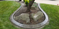 Landscaping Services, Decorative Concrete Curbs & More!