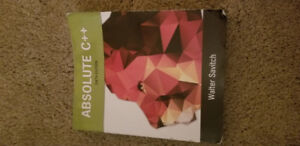 Absolute C++ W/Myprogramminglab 6th Edition