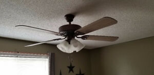 Ceiling fan price negotiable
